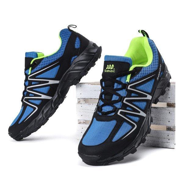 822deafaf5ab0 Niebiesko-czarne męskie buty sportowe Jonas - Obuwie