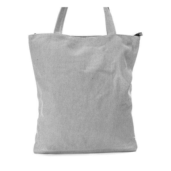 399a81ff07261 Szara torba z napisem - Torebki - Szary | Royalfashion.pl - sklep z ...