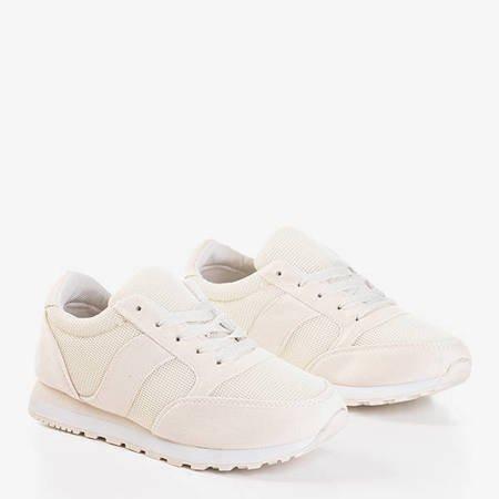 Beżowe buty sportowe Fantazi - Obuwie