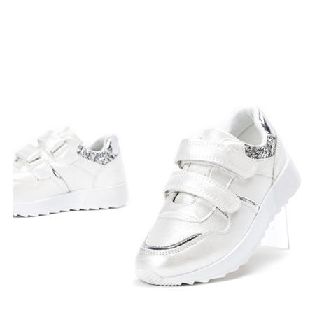 Białe dziewczęce buty sportowe Hawkgirl - Obuwie