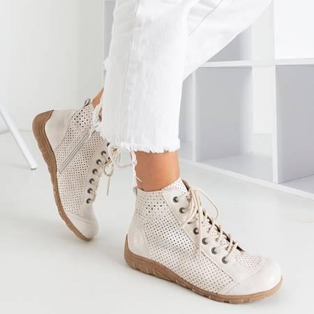 Białe sportowe buty damskie Iria - Obuwie