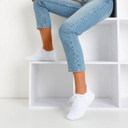 Białe sportowe buty damskie Noven - Obuwie