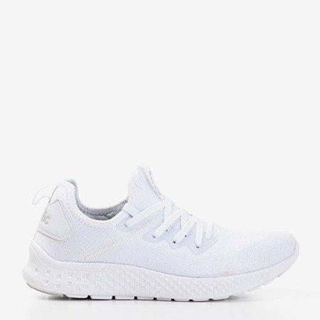 Białe sportowe buty damskie Toledo - Obuwie