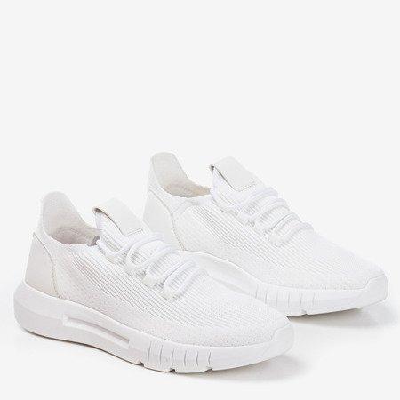 Białe sportowe buty męskie Tomeq - Obuwie