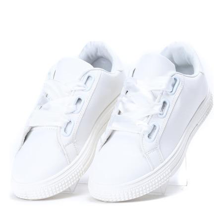 Białe sportowe tenisówki Affino - Obuwie