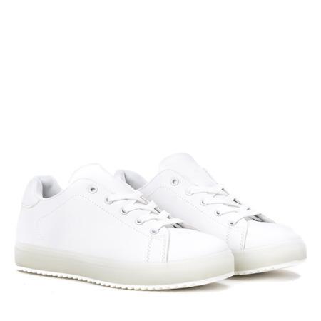 Białe tenisówki Robinson - Obuwie