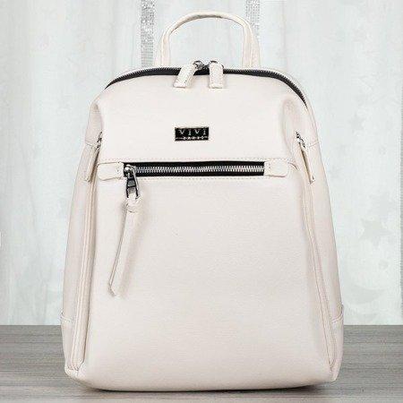 Biały plecak damski - Plecaki