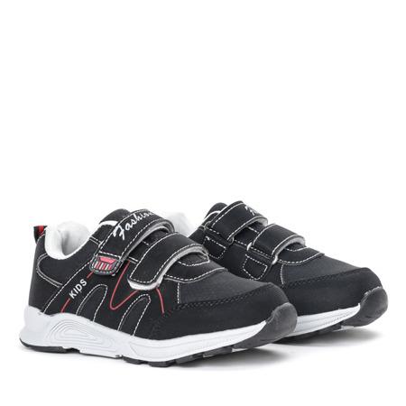 Chłopięce czarne buty Caltagira - Obuwie