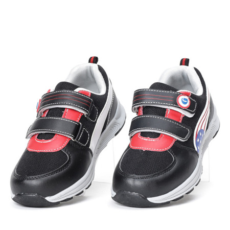 Chłopięce sportowe buty w kolorze czarnym Trini - Obuwie