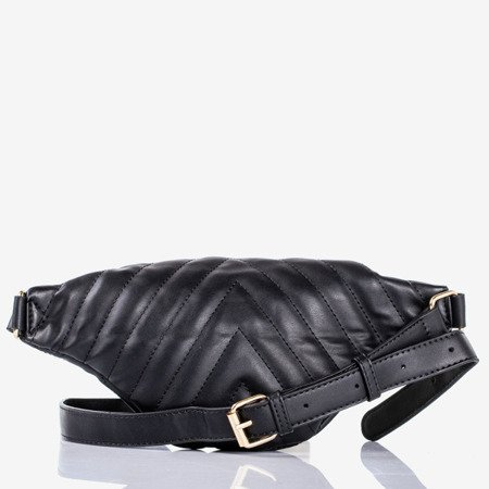 Czarna mała torebka nerka - Torebki