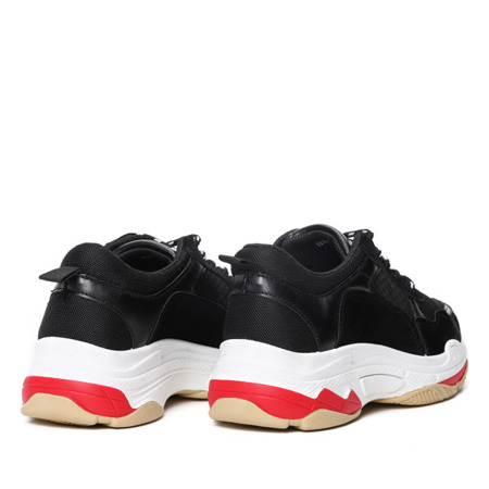 Czarne buty sportowe Joyce- Obuwie