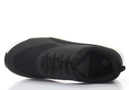 Czarne damskie sneakersy Aldoni - Obuwie