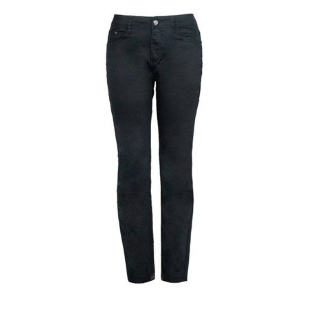 Czarne długie spodnie jeansowe - Spodnie