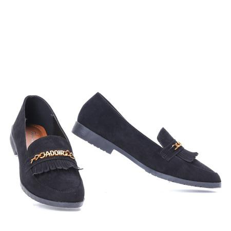 Czarne mokasyny Jadoir- Obuwie