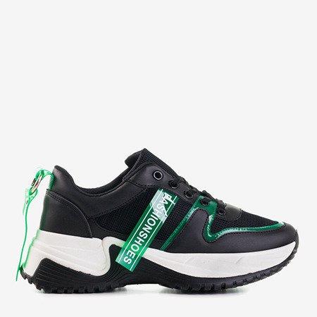 Czarne sportowe buty Evanile - Obuwie