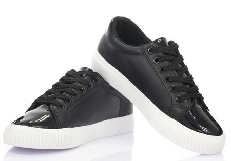 Czarne, sportowe buty - Obuwie