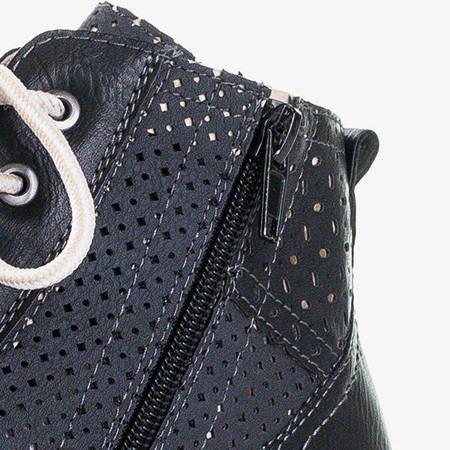 Czarne sportowe buty damskie Iria - Obuwie