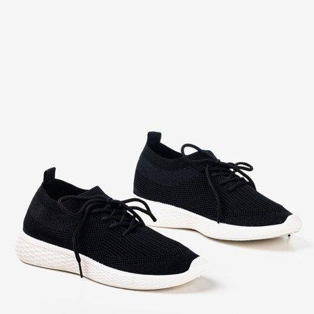 Czarne sportowe buty damskie Muleq - Obuwie