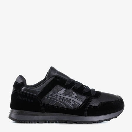 Czarne sportowe damskie buty Qatie - Obuwie