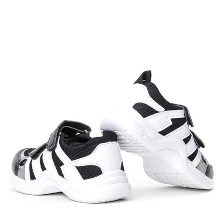 Czarne sportowe dziewczęce buty Kameliane - Obuwie