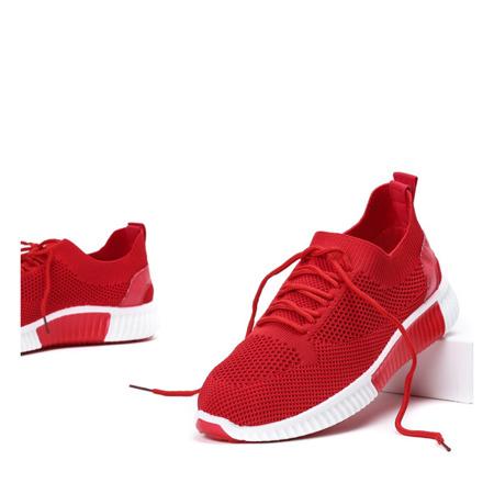 Czerwone buty sportowe Ventura - Obuwie