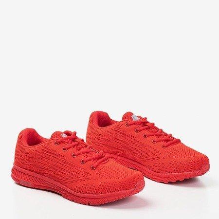 Czerwone męskie buty sportowe Erol - Obuwie