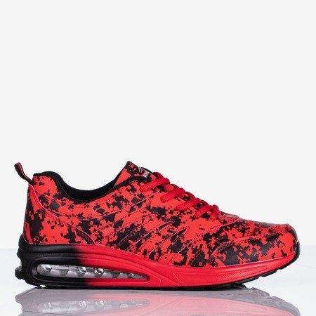 Czerwono-czarne sportowe buty damskie Thalassa - Obuwie