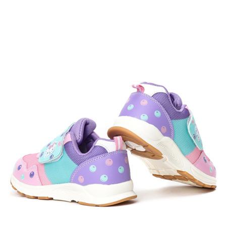 Dziewczęce buty w kolorze różowym Oliena - Obuwie