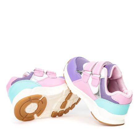 Fioletowe dziewczęce buty Alona - Obuwie
