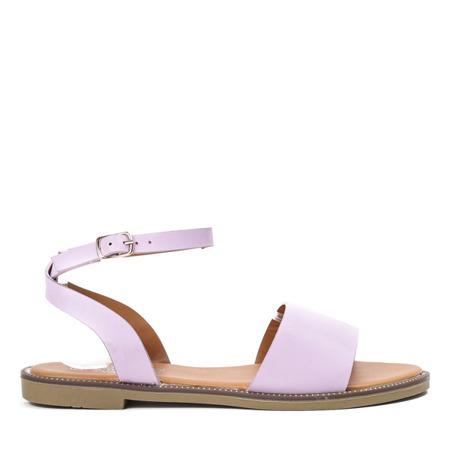 Fioletowe sandały Forencia - Obuwie