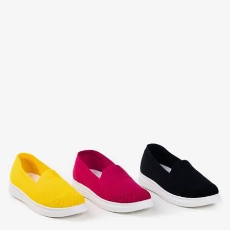 Fuksjowe buty sportowe slip - on Tasia - Obuwie