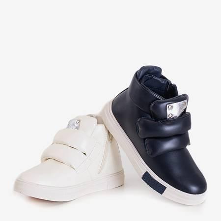 Granatowe dziecięce sneakersy Dama - Obuwie