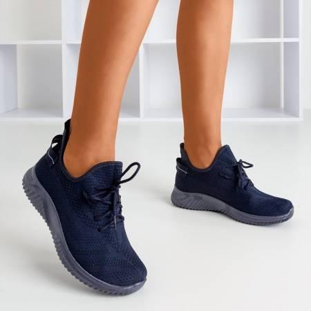 Granatowe sportowe buty damskie Bigula - Obuwie