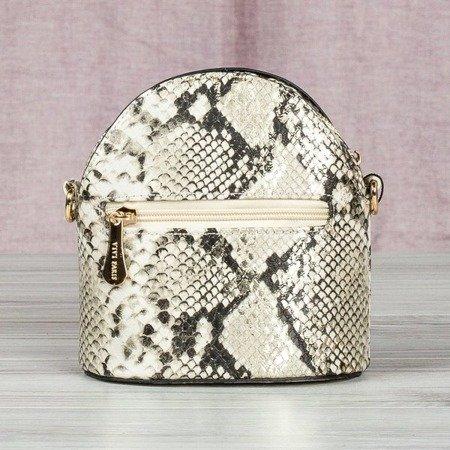 Mała torebka na ramię  a'la skóra węża - Torebki