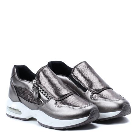 Metaliczne sportowe buty Alexandria - Obuwie