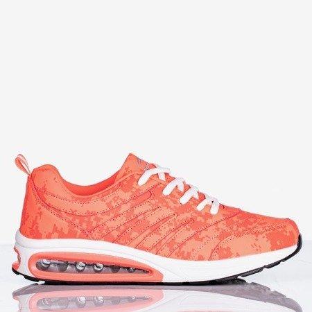 Neonowe różowe sportowe buty damskie Thalassa - Obuwie