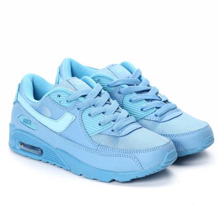 Niebieskie buty sportowe Dario  - Obuwie