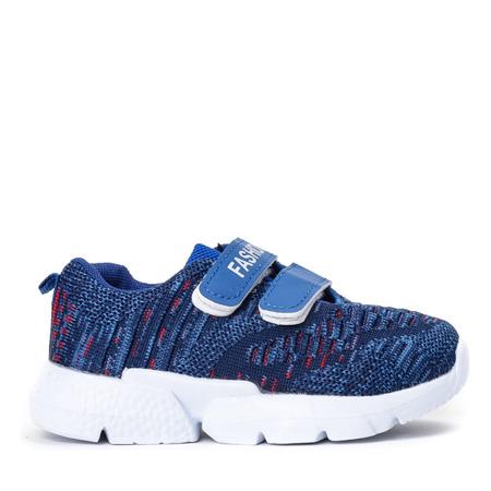 Niebieskie chłopięce sportowe buty Missisipi - Obuwie