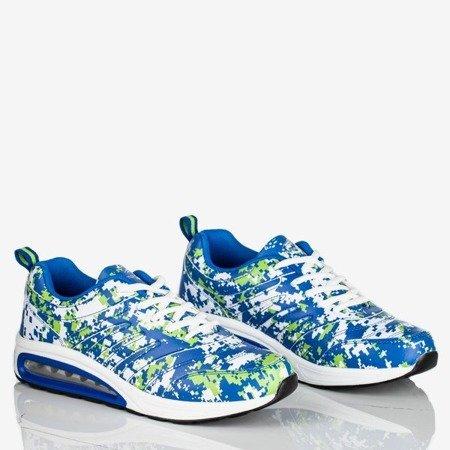 Niebiesko-zielone sportowe buty damskie Thalassa - Obuwie