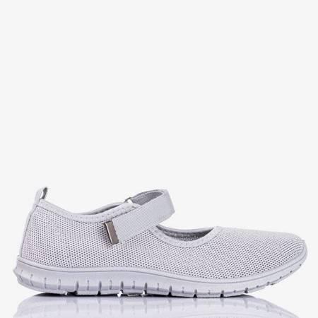 OUTLET Szare sportowe buty damskie Tassiana - Obuwie