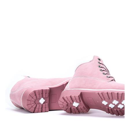Ocieplane trapery w kolorze różowym Ruthie- Obuwie