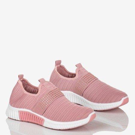Różowe buty sportowe damskie Agafia - Obuwie