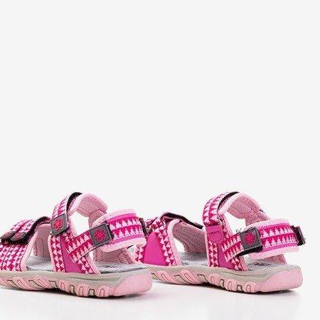 Różowe dziecięce sandały Yoci - Obuwie