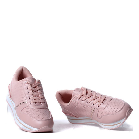 Różowe sportowe buty - Obuwie