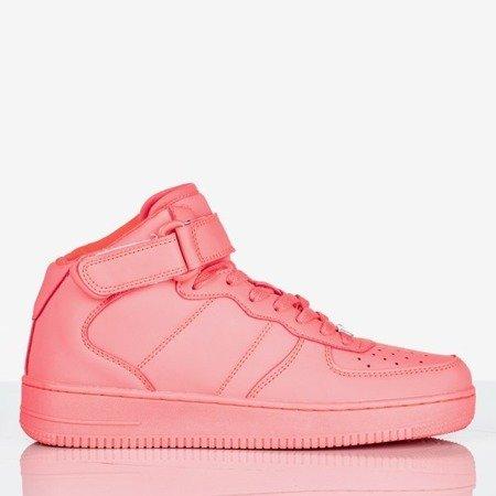 Różowe wysokie buty sportowe na platformie Tiny Dancer Obuwie