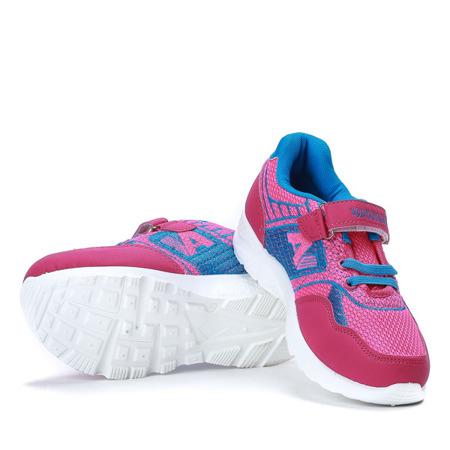 Różowo-niebieskie dziecięce buty sportowe Sammy - Obuwie