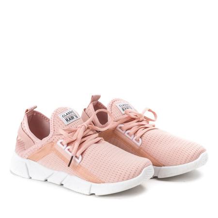 Różowo - pomarańczowe buty sportowe Ravia - Obuwie