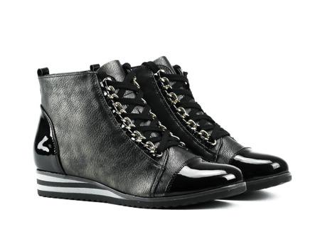 Sneakersy Robin w kolorze czarnym - Obuwie