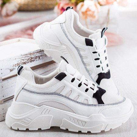 Sportowe buty damskie na grubej podeszwie Street Walk - Obuwie