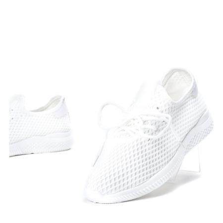 Sportowe buty w kolorze białym Kaylee - Obuwie